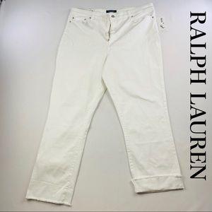 Lauren Ralph Lauren White Pants